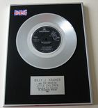 BILLY J. KRAMER WITH THE DAKOTAS - LITTLE CHILDREN PLATINUM Single Presentation DISC